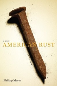 Cover Art for AMERICAN RUST - image source: Goodreads