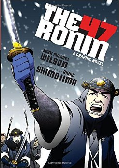 Front cover of THE 47 RONIN (2013) -- image source: Amazon (Fair Use asserted)