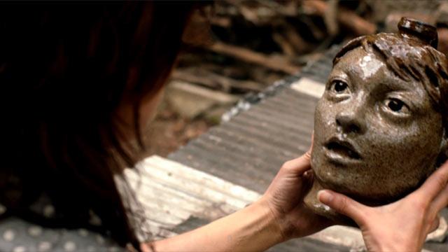 Ada (Carter) discovers her jug face