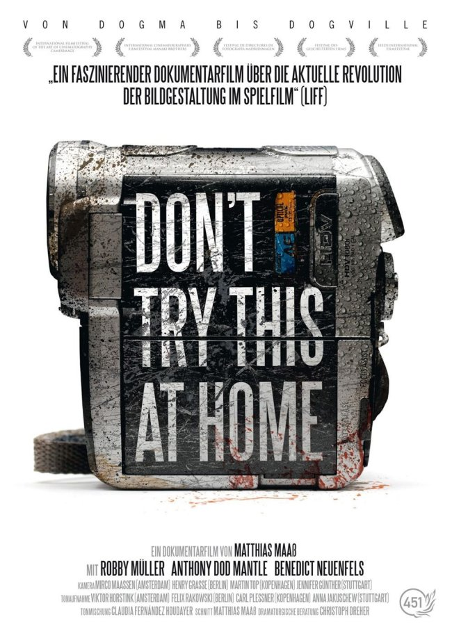 Theatrical Poster for DON'T TRY THIS AT HOME - Fair Use asserted