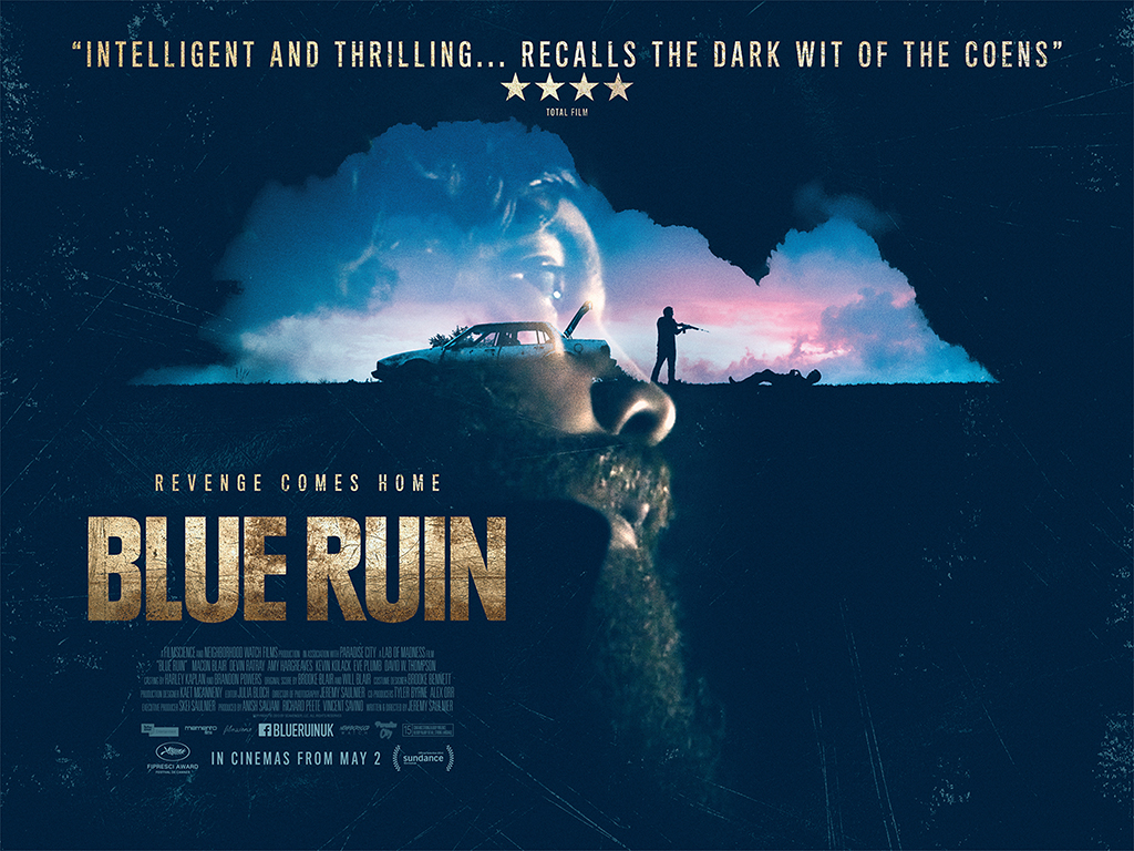 Theatrical Poster for BLUE RUIN (2013)
