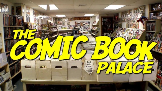 "Title card from ""The Comic Book Palace"" (2013) -- image source: YouTube"