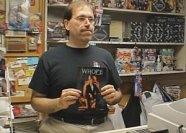 Glenn, owner of the store featured in THE COMIC BOOK PALACE