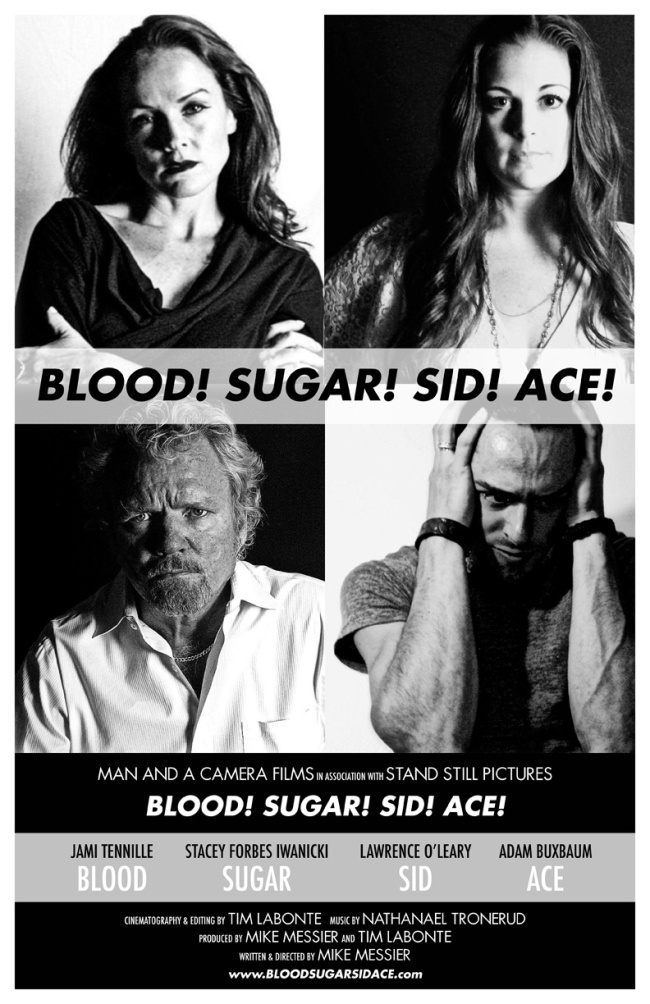 Theatrical poster for BLOOD! SUGAR! SID! ACE!
