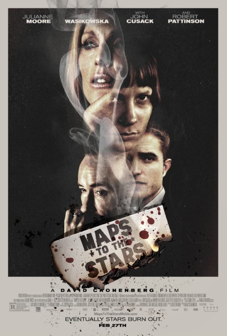 Theatrical Poster for MAPS TO THE STARS (2014)