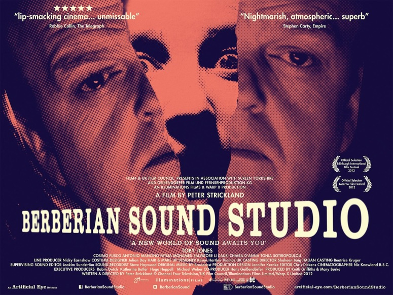 Theatrical Poster for BERBERIAN SOUND STUDIO
