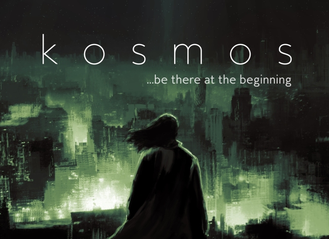 Poster Art for KOSMOS - image source: Kickstarter
