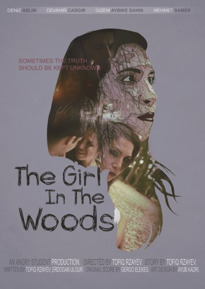 Theatrical Poster for THE GIRL IN THE WOODS