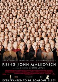 "Theatrical poster for ""Being John Malkovich"""