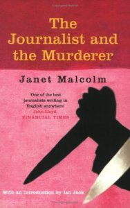 Cover from THE JOURNALIST AND THE MURDERER by Janet Malcolm