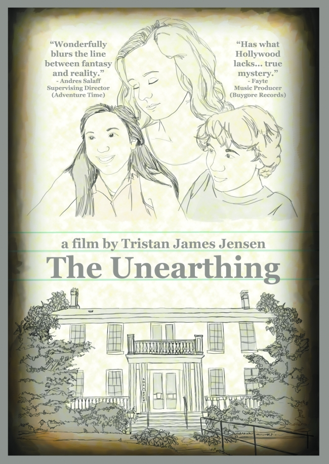Theatrical Poster for THE UNEARTHING (2015) - image source: Tristan James Jensen
