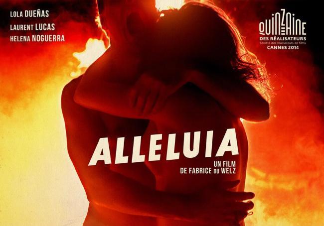 Lobby card for ALLELUIA (2014)