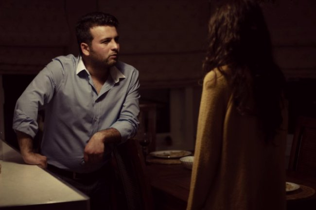 Mehmet Fatih Güven and Goknur Danishik in In a Time for Sleep (2016)