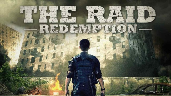 Detail from Theatrical Poster for THE RAID: REDEMPTION (2011)
