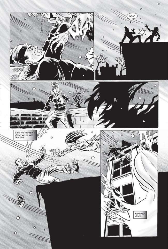 Sample page from CORKTOWN #1 - image source: Peter Simeti