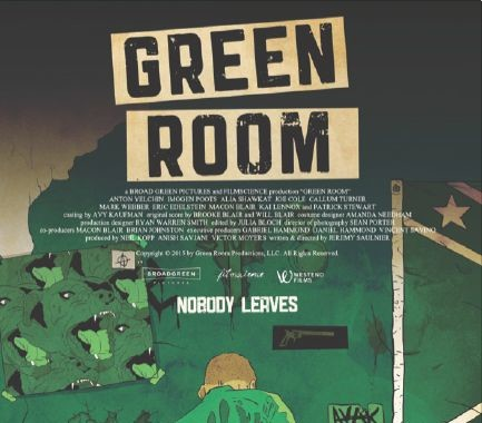 Poster for GREEN ROOM (2015)