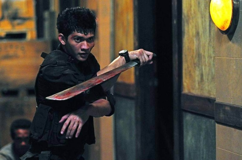"Iko Uwais as Rama in ""The Raid: Redemption"""
