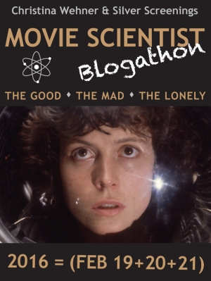 Banner for the Movie Scientist Blogathon