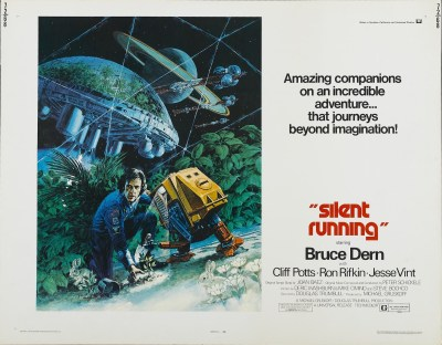"Lobby card for ""Silent Running"" (1972)"