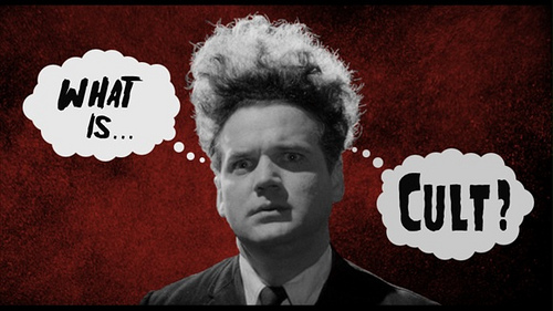 David Lynch's ERASERHEAD is a cult movie about a family of sorts. But is the family a cult? Image source: https://repsub13.wordpress.com/projects/shelly/