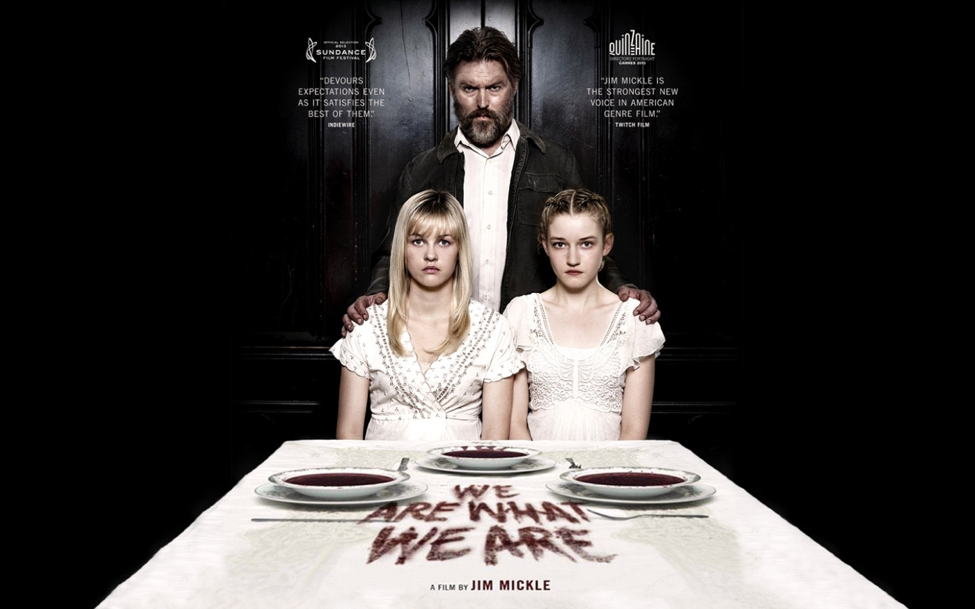 Theatrical poster for WE ARE WHAT WE ARE (2013) - Fair Use asserted