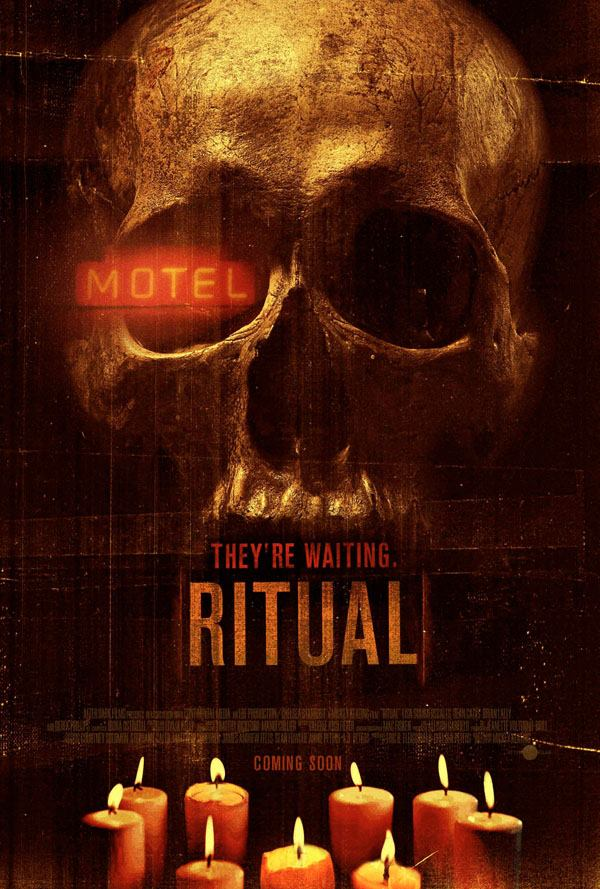 Theatrical poster for RITUAL (2013) - source: https://www.facebook.com/Ritual.horror/photos_stream