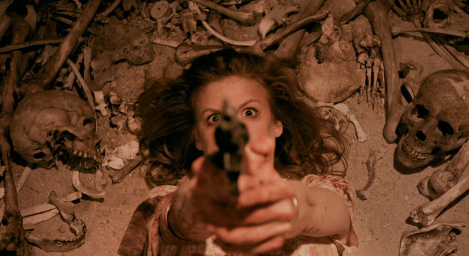 Ashley Bell as Vivian in CARNAGE PARK (2016)