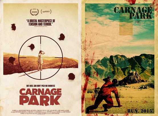 Theatrical posters for CARNAGE PARK (2016)
