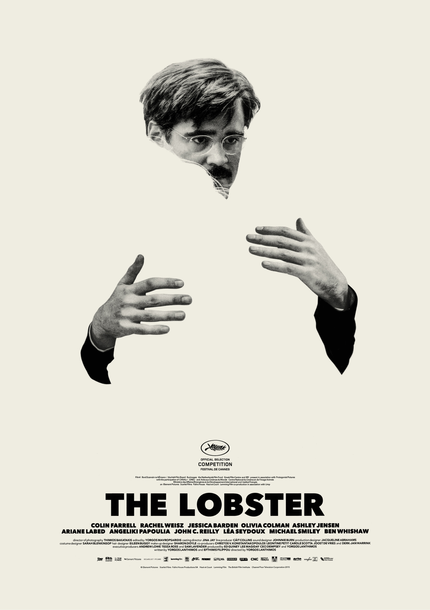 Theatrical poster for THE LOBSTER (2015)
