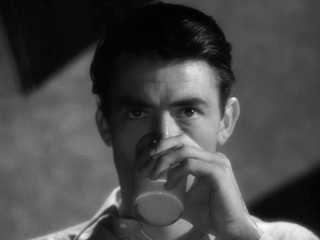 Still from Hitchcock's SPELLBOUND (1945)