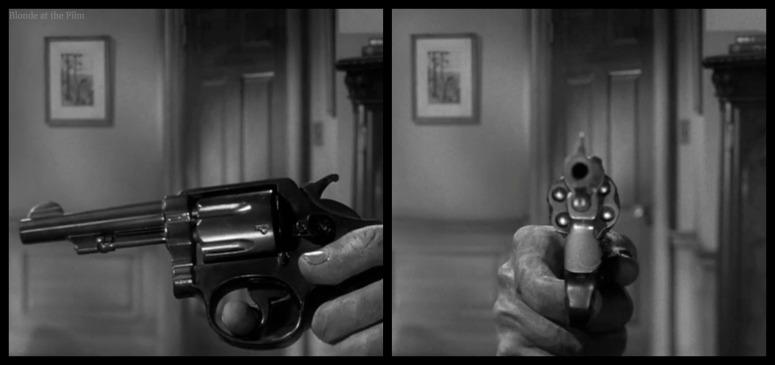 Stills from Hitchcock's SPELLBOUND (1945)