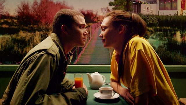 Murphy (Karl Glusman) and Electra (Aomi Muyock) in Gaspar Noé's LOVE (2015)