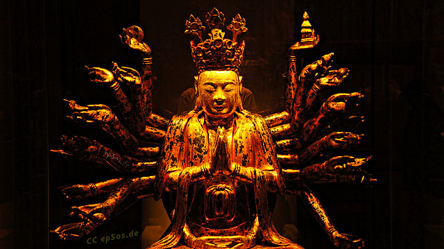 Golden Buddha, By epSos.de, CC BY 2.0, https://commons.wikimedia.org/w/index.php?curid=27942418