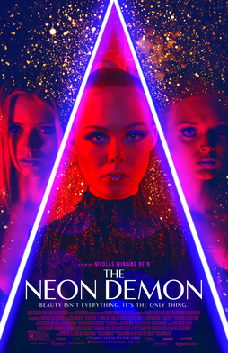 Theatrical Poster for THE NEON DEMON, Fair use, https://en.wikipedia.org/w/index.php?curid=50235396