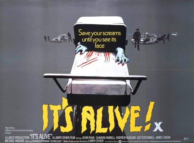 Lobby card for IT'S ALIVE (1974)