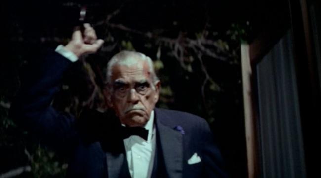 Boris Karloff as Orlok in TARGETS (1968)