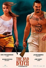 DVD cover art work for THE BAD BATCH (2016)