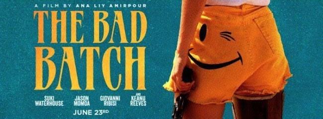 Lobby card for THE BAD BATCH (2016) -- Fair Use asserted