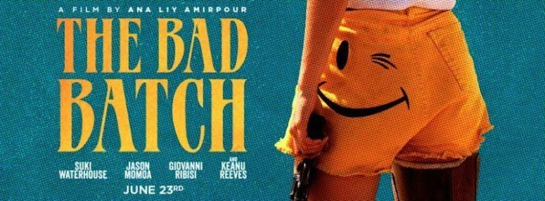 Lobby card for THE BAD BATCH (2016) -- Fair Use asserted
