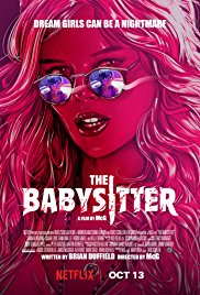 Theatrical poster for THE BABYSITTER (2017)