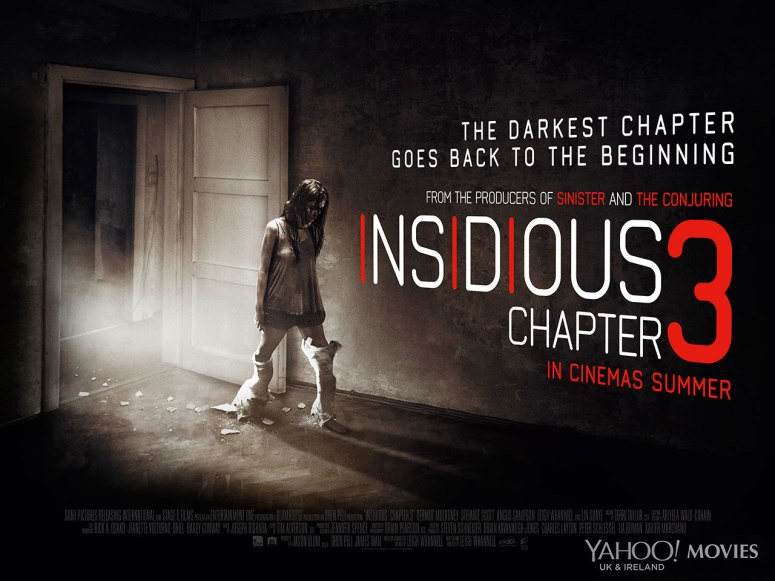 UK Lobby Card for Insidious: Chapter 3