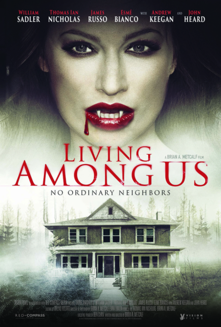 Theatrical Poster for LIVING AMONG US (2018)