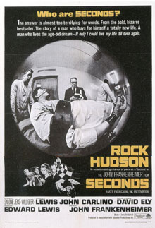 Theatrical Poster for SECONDS (1966)